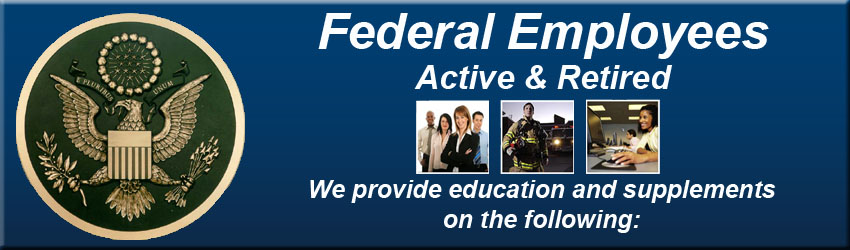 Retired Federal Employees Banner